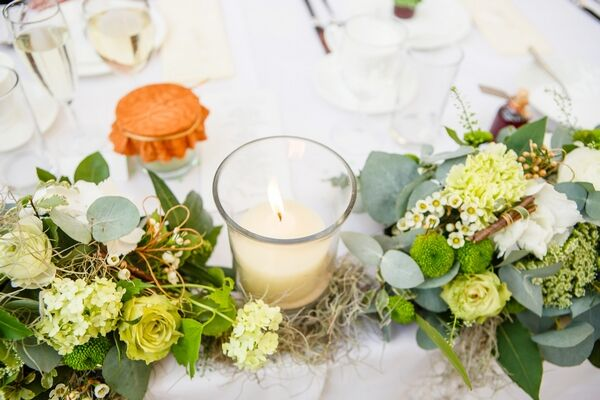 Close up of Top Table Runner