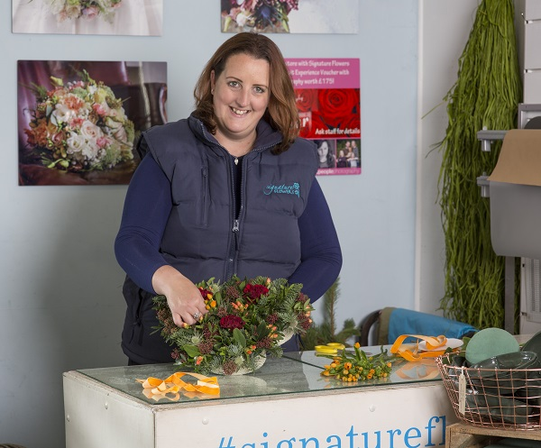 Emma Clarke Owner and Founder of Signature Flowers Bucks and Oxon