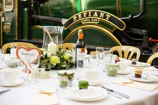 Defiant Steam Engine at Buckinghamshire Railway Centre