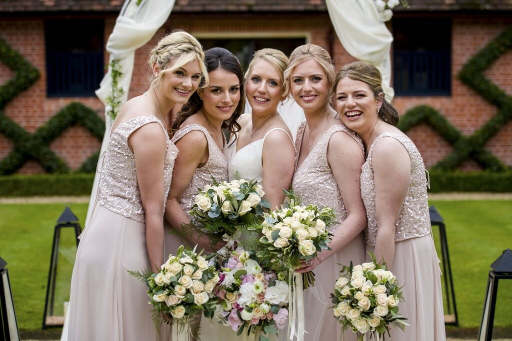 Kirsty and Her Bridesmaids