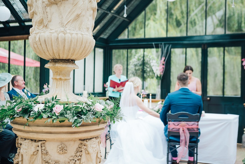 The Dairy Waddesdon Wedding Ceremony