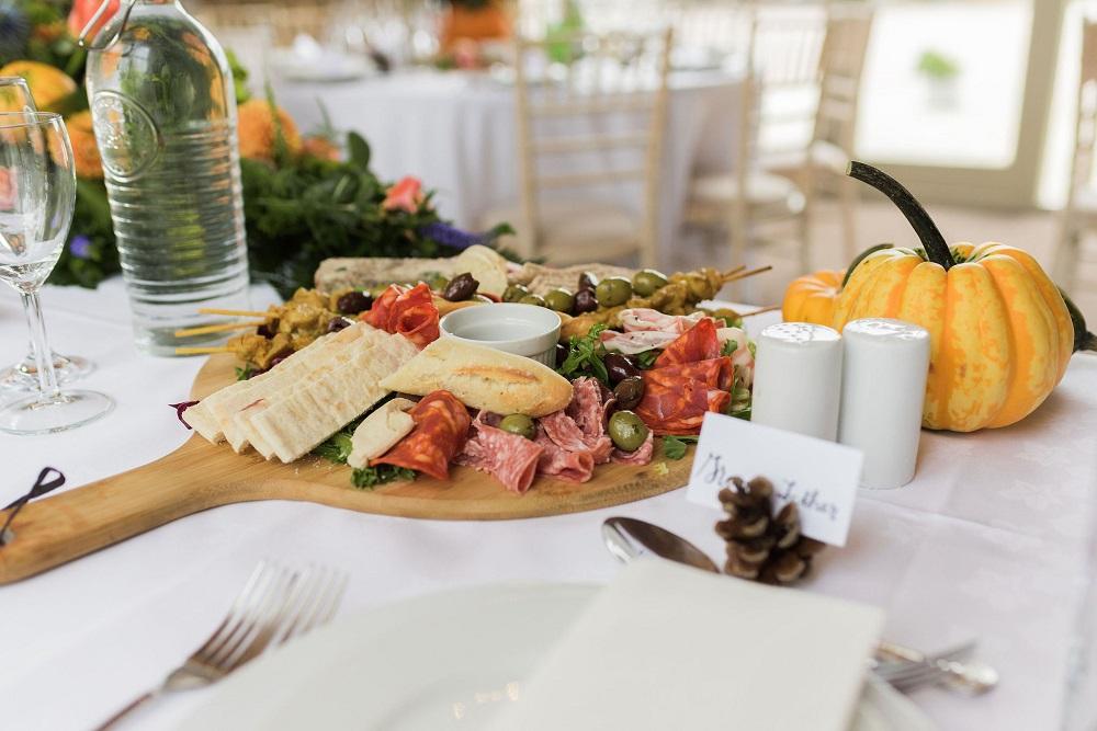 Tapas wedding breakfast