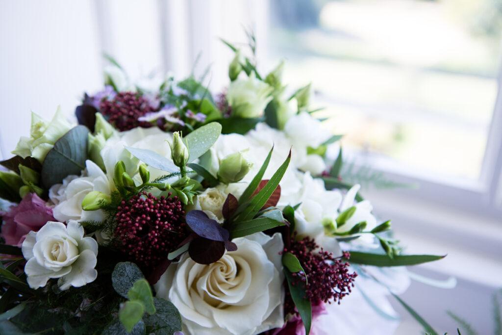 Close up of Bridesmaid Bouquet