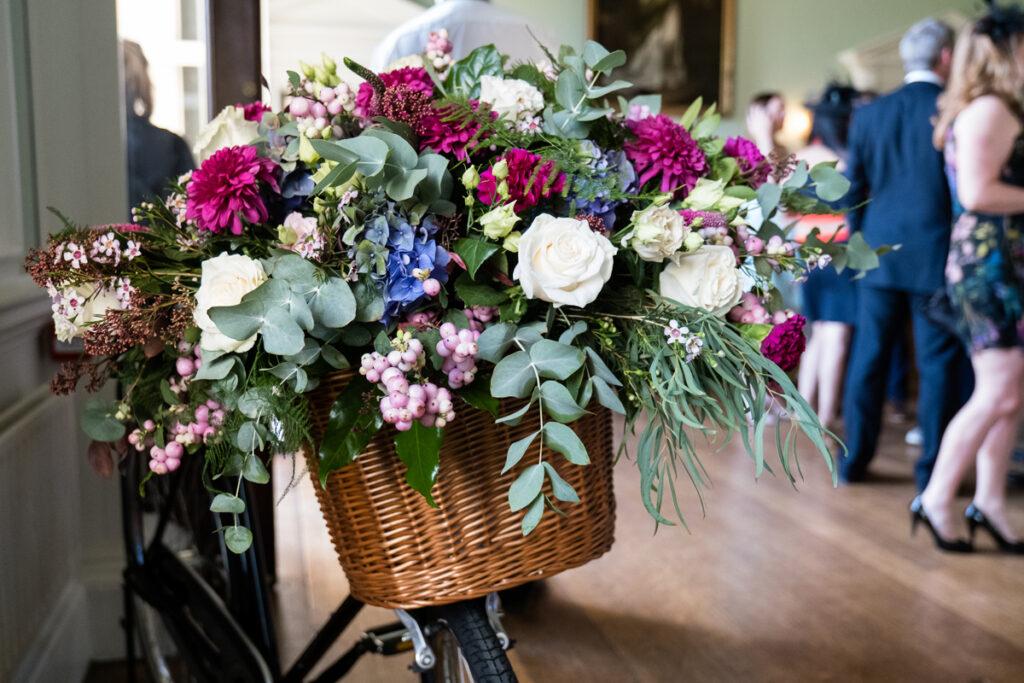 Bicycle Wedding Flowers