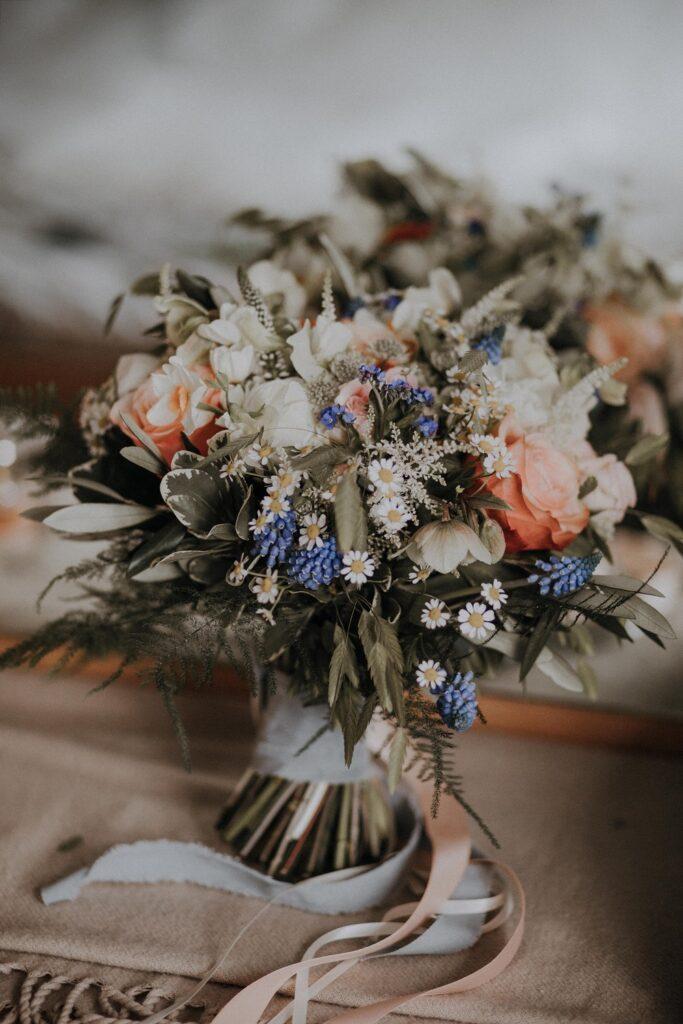 Bridal Bouquet close up.